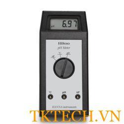 Máy đo pH Hanna HI8010
